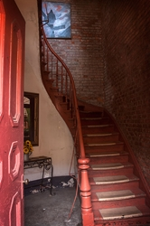 New Orleans Red Staircase