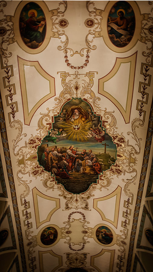 New Orleans Saint Louis Cathedral Ceiling